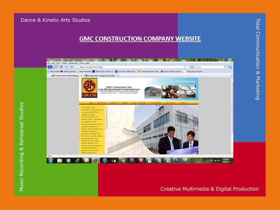 GMC CONSTRUCTION COMPANY WEBSITE