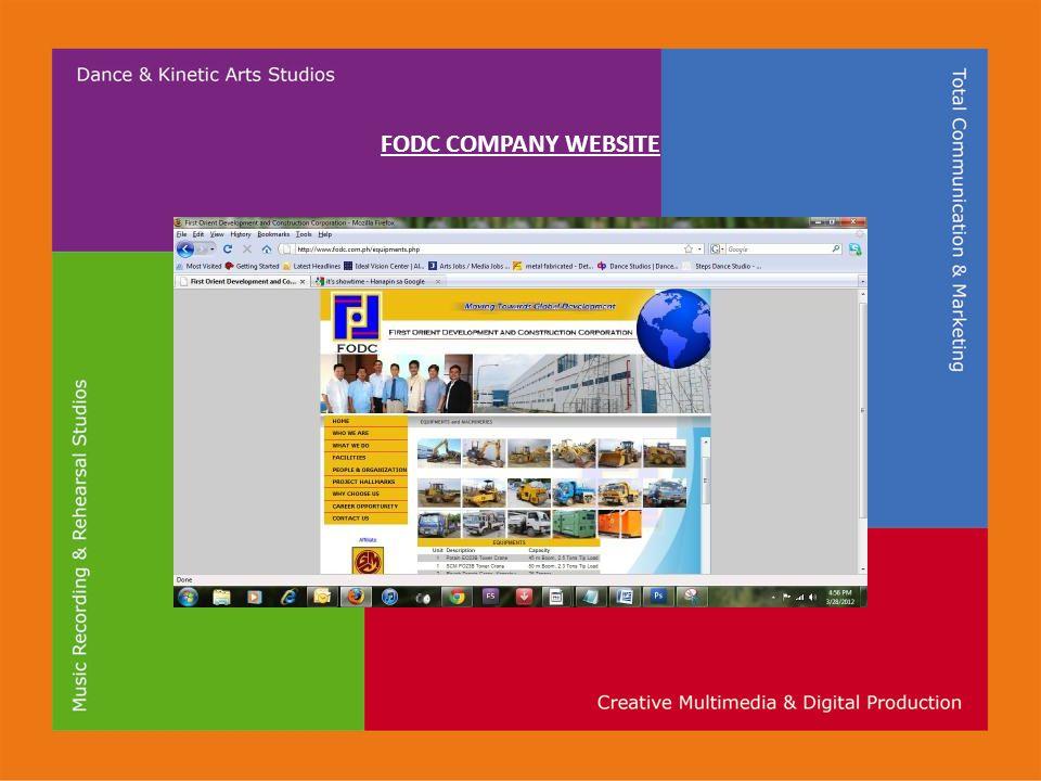FODC COMPANY WEBSITE