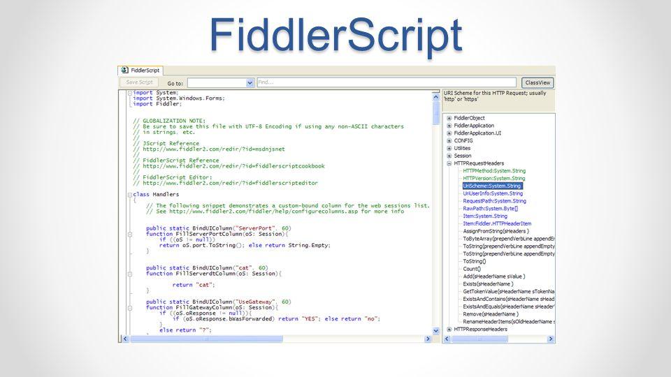FiddlerScript