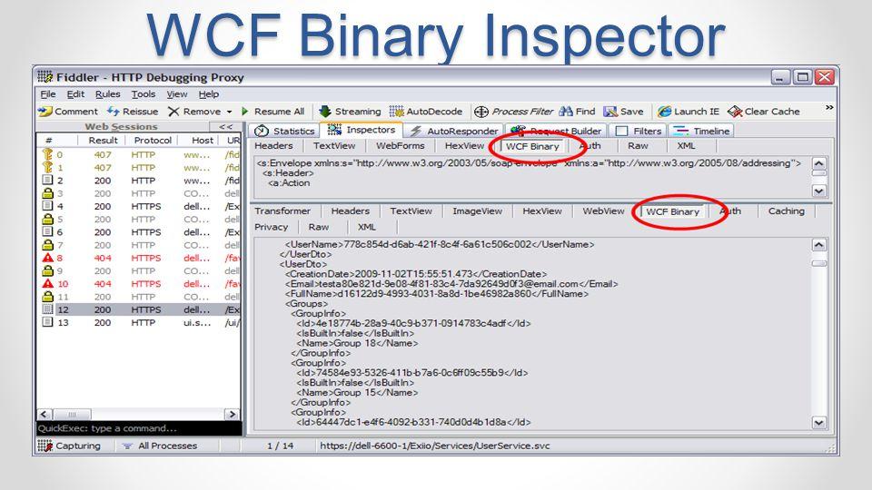 WCF Binary Inspector