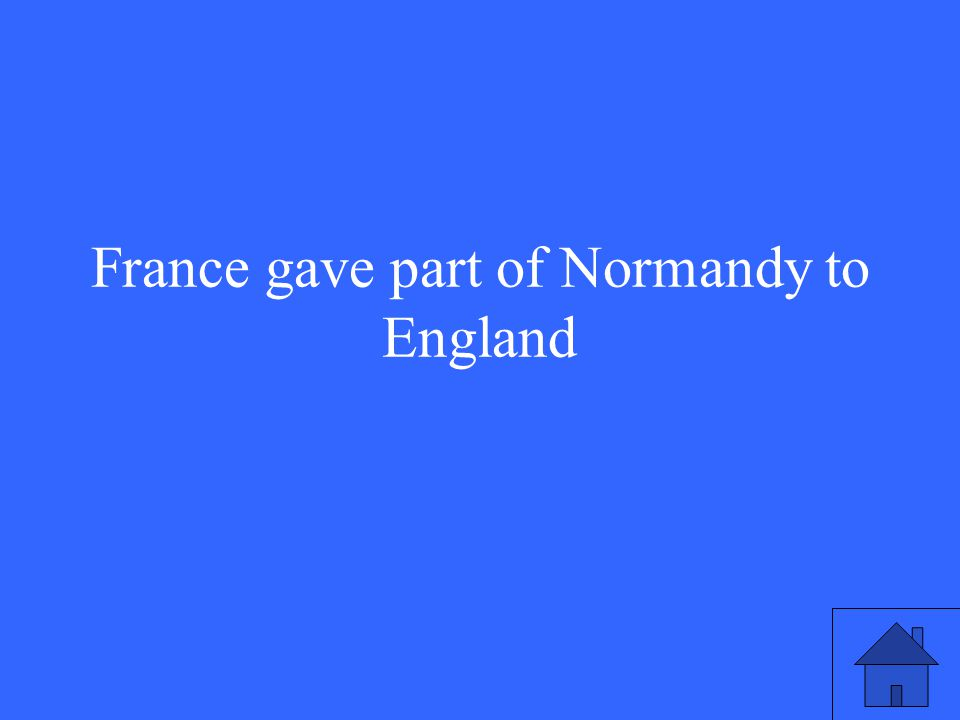 What was the result of the Hundred Years' War between England and France