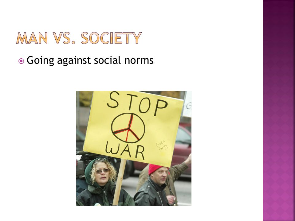  Going against social norms