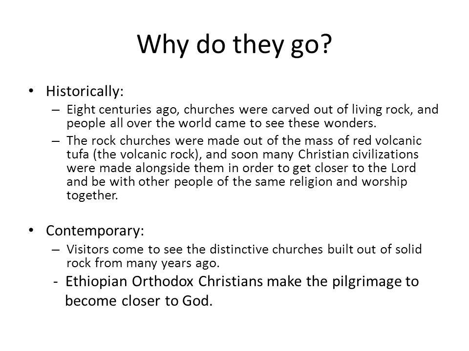 Ethiopian Orthodox Christians and Lalibela