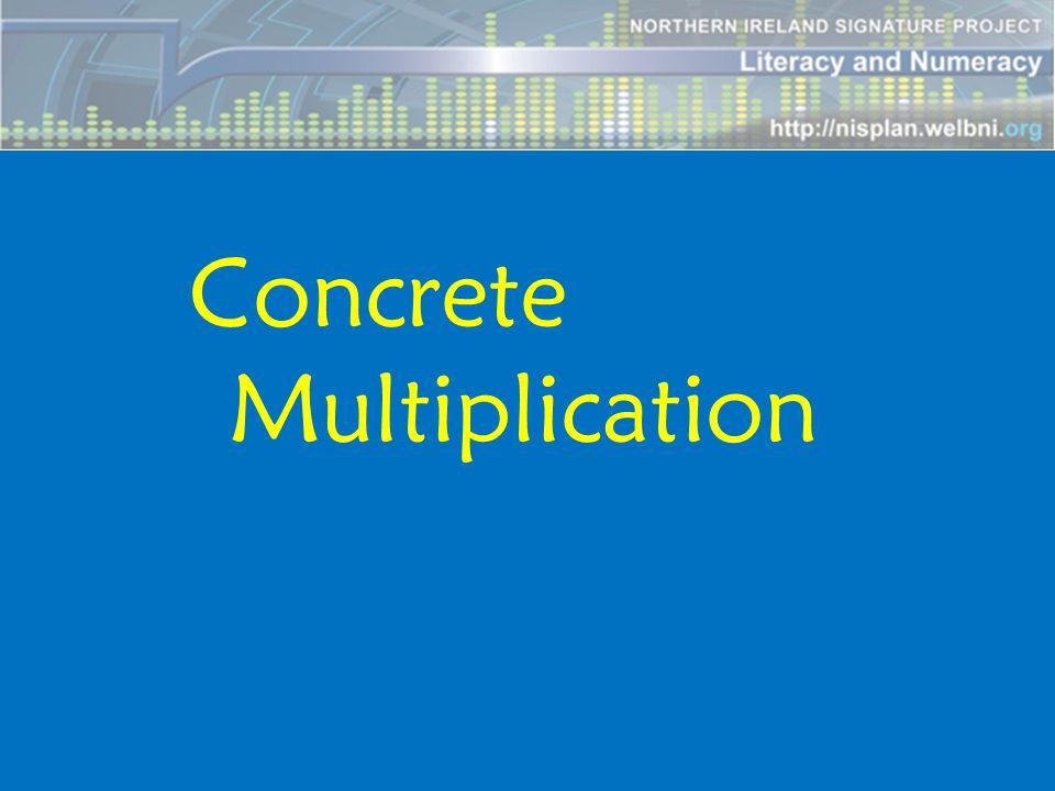 Concrete Multiplication