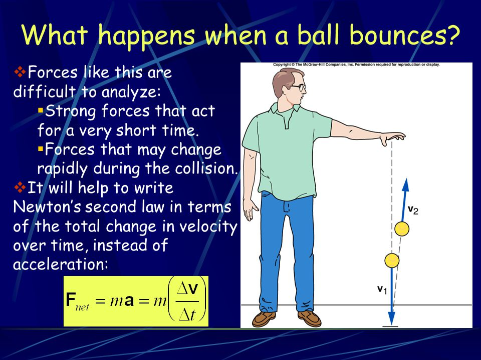 What happens when billiard balls bounce.