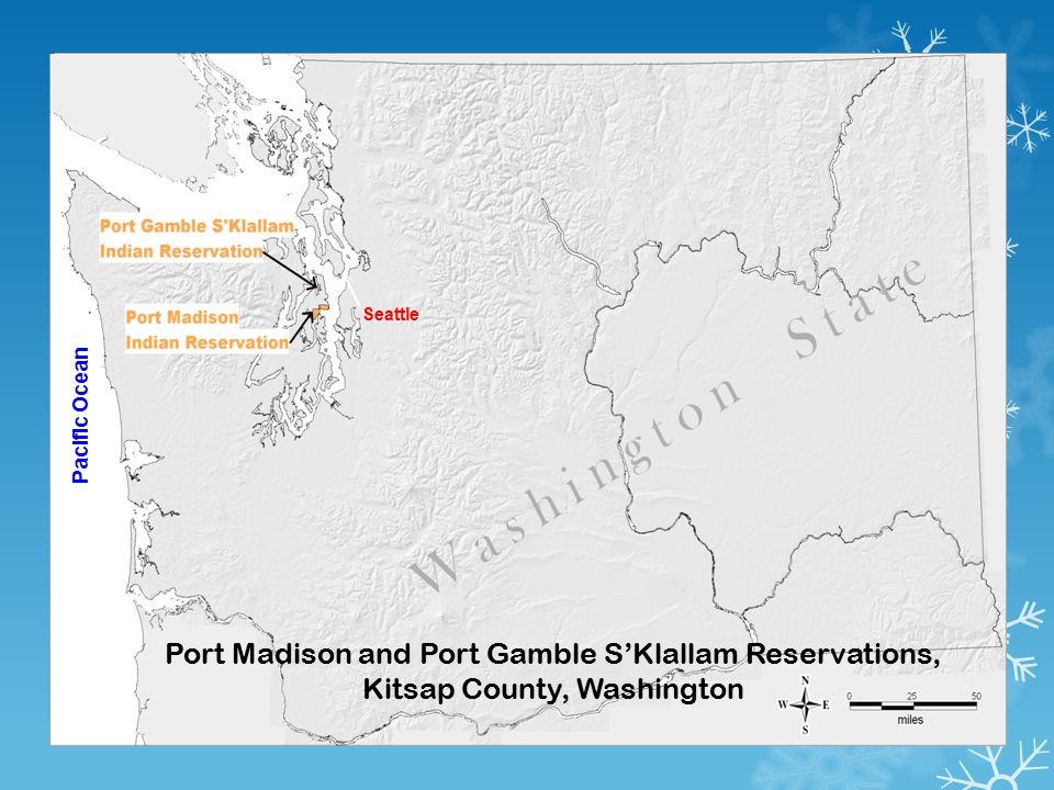 Port Madison and Port Gamble S'Klallam Reservations, Kitsap County, Washington Pacific Ocean Seattle