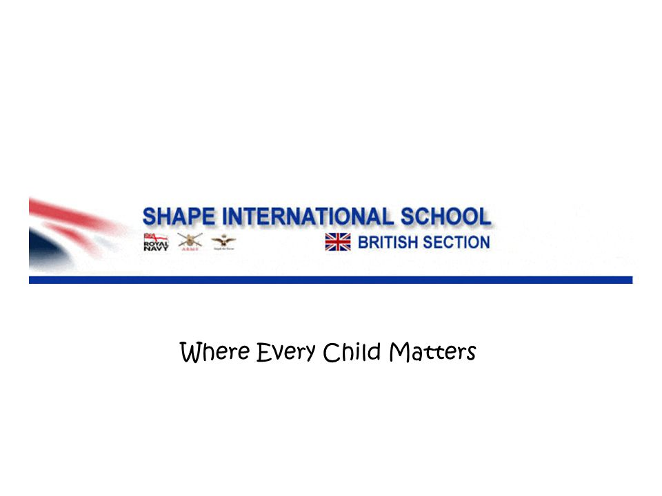 Where Every Child Matters