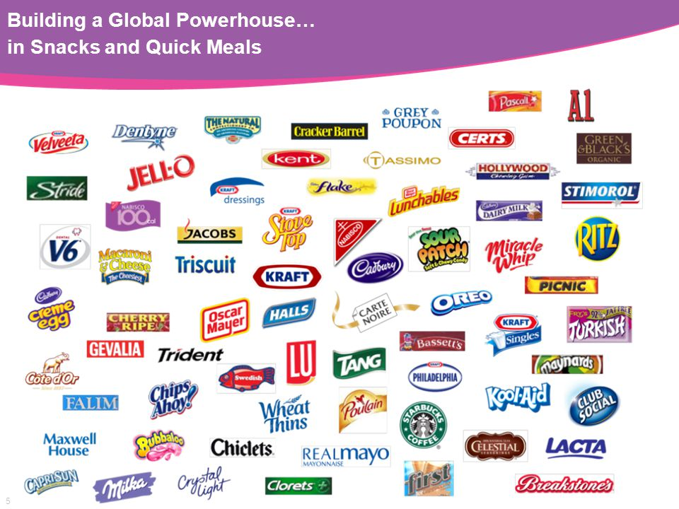 5 Building a Global Powerhouse… in Snacks and Quick Meals