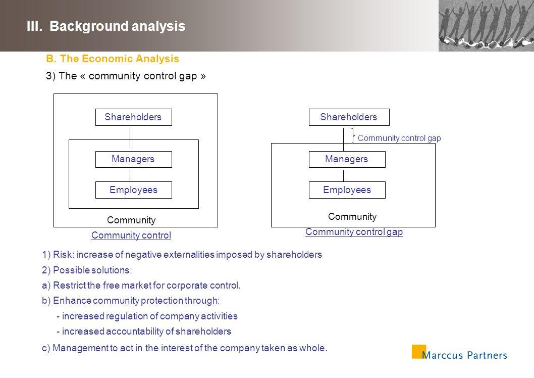 31 III.Background analysis B.