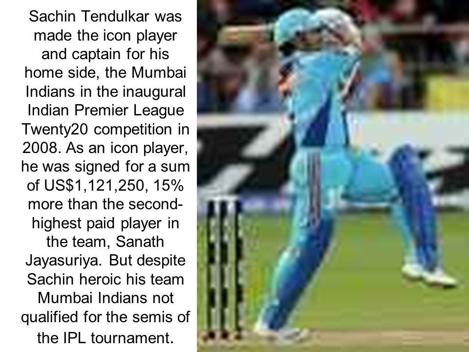 Sachin personal life Sachin was born in Bombay.