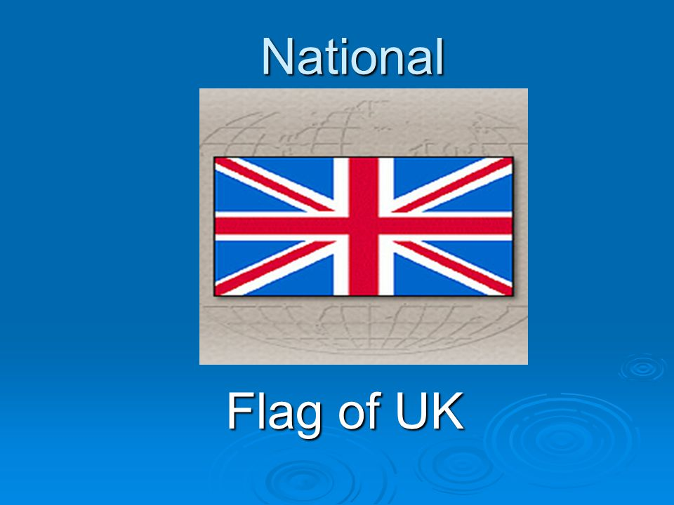 National Flag of UK