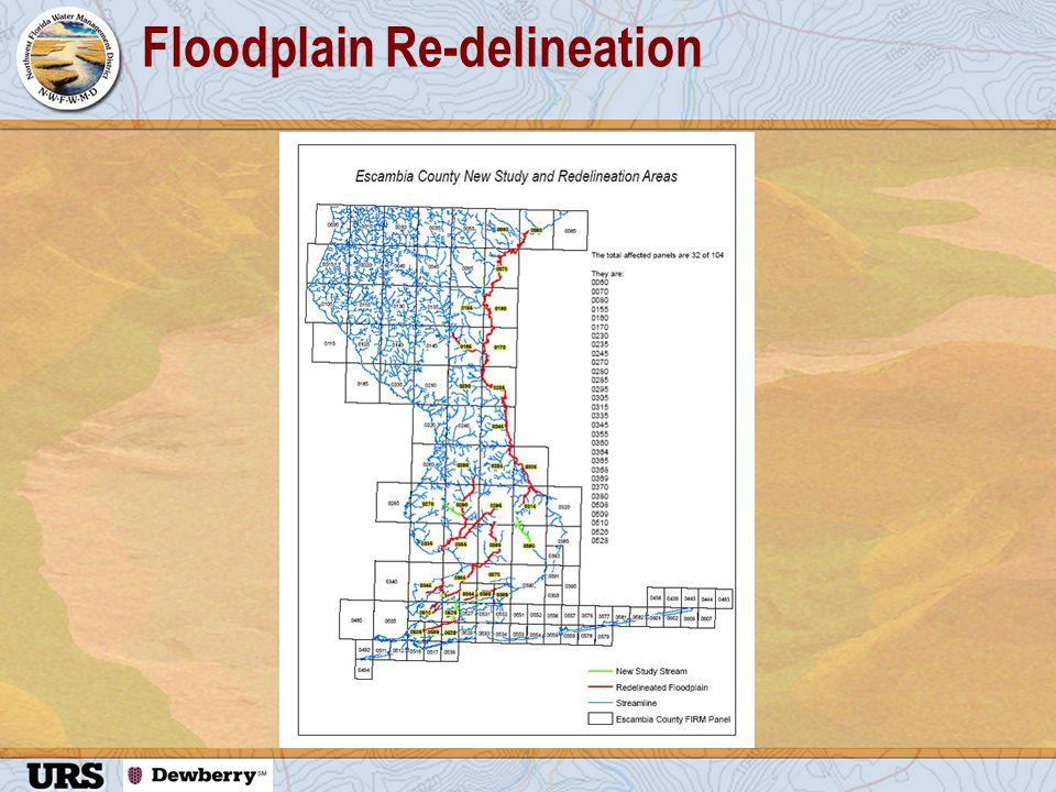 Floodplain Re-delineation