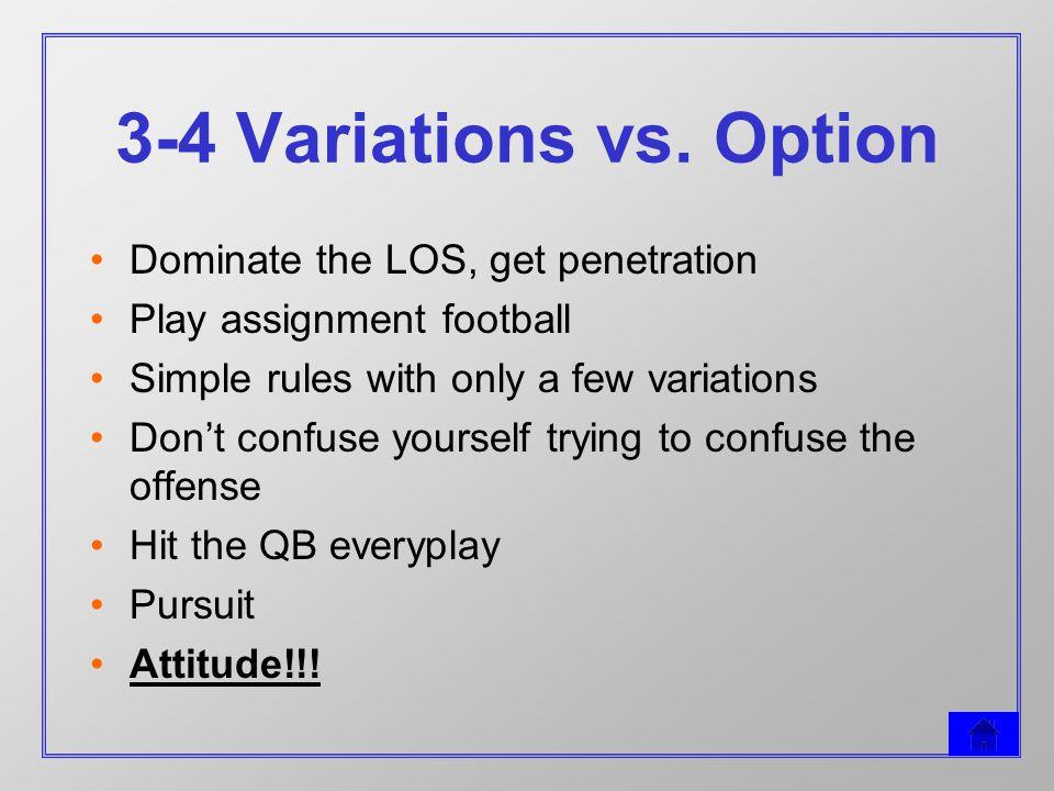 3-4 Variations vs.