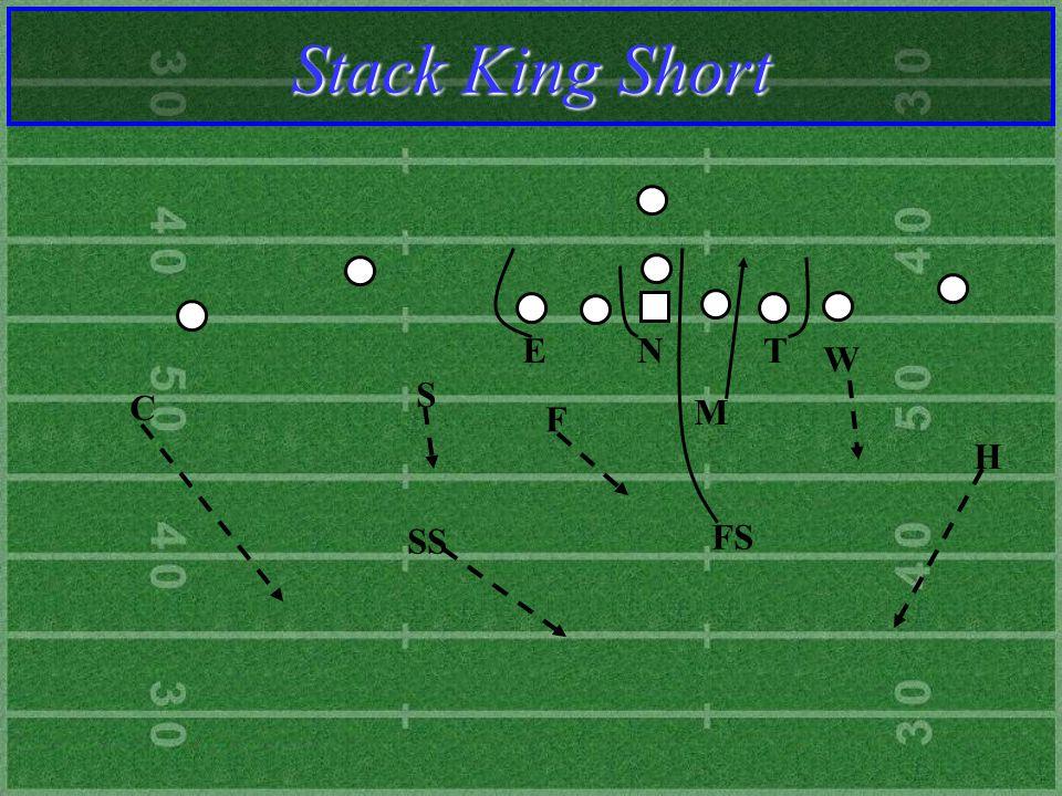 F M S T N E W SS C FS H Stack King Short