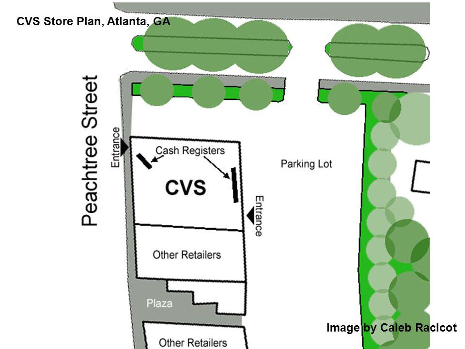 Image by Caleb Racicot CVS Store Plan, Atlanta, GA