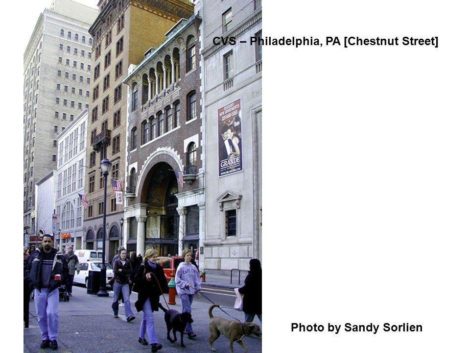 CVS – Philadelphia, PA [Chestnut Street]