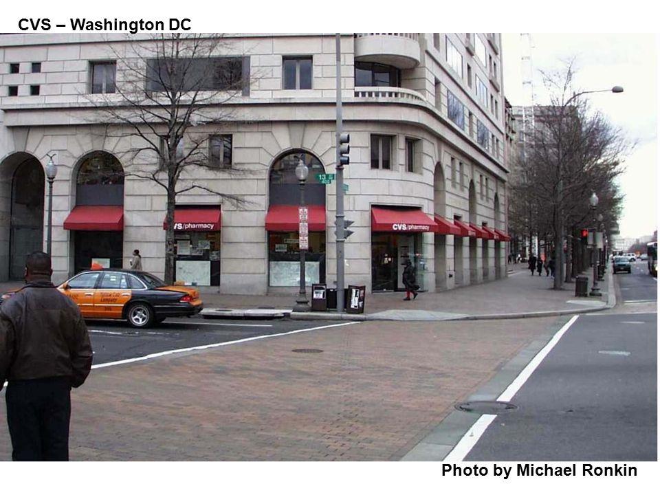 CVS – Washington DC Photo by Michael Ronkin