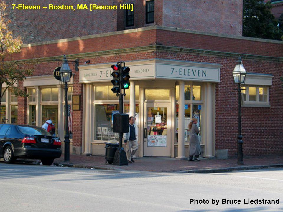 Photo by Bruce Liedstrand 7-Eleven – Boston, MA [Beacon Hill]