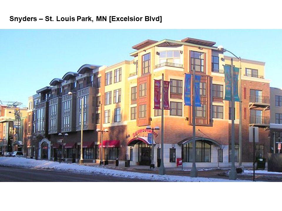 Snyders – St. Louis Park, MN [Excelsior Blvd]