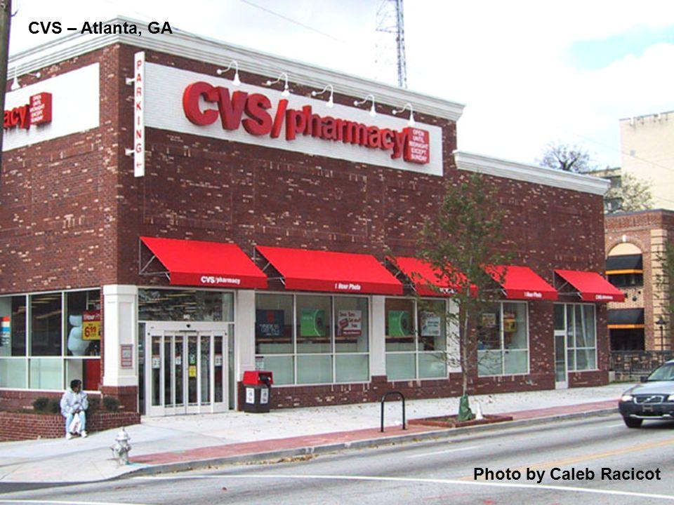 CVS – Atlanta, GA Photo by Caleb Racicot
