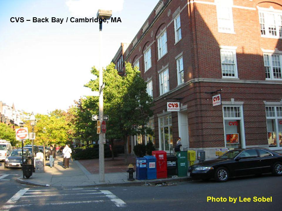 CVS – Back Bay / Cambridge, MA Photo by Lee Sobel