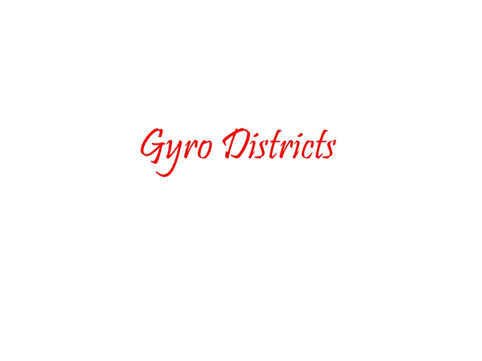 Gyro Districts