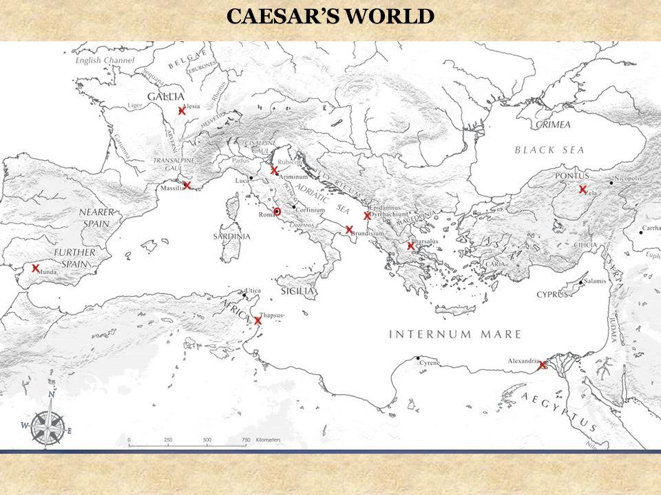 CAESAR'S WORLD