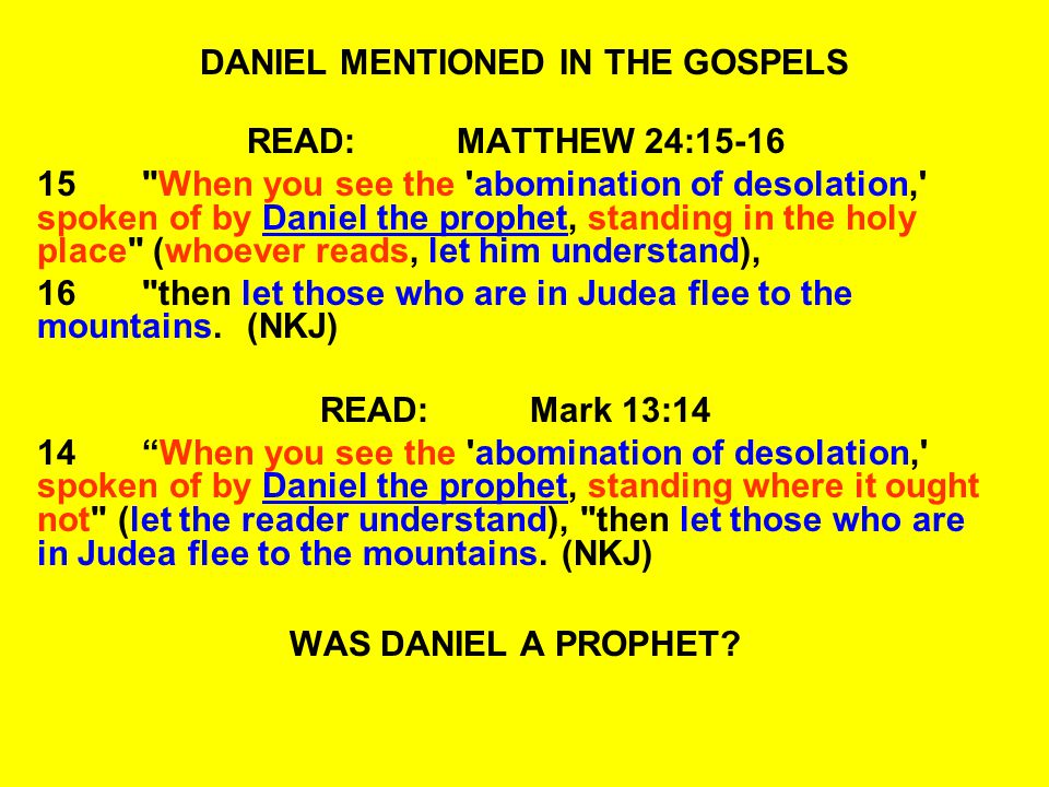 QUESTIONS:DANIEL 1:15-17 20In all matters of wisdom and understanding about which the king examined them, he found them ten times better than all the magicians and astrologers who were in all his realm.