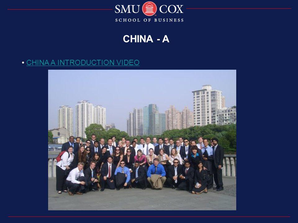 CHINA - A CHINA A INTRODUCTION VIDEO