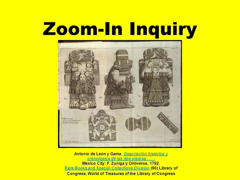 Zoom-In Inquiry Antonio de León y Gama. Descripción histórica y cronológica de las dos piedras....