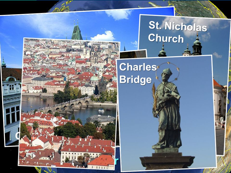 Day Two Arrive Prague And transfer to your hotel Prague San Francisco Old Town Square St. Nicholas Church CharlesBridge
