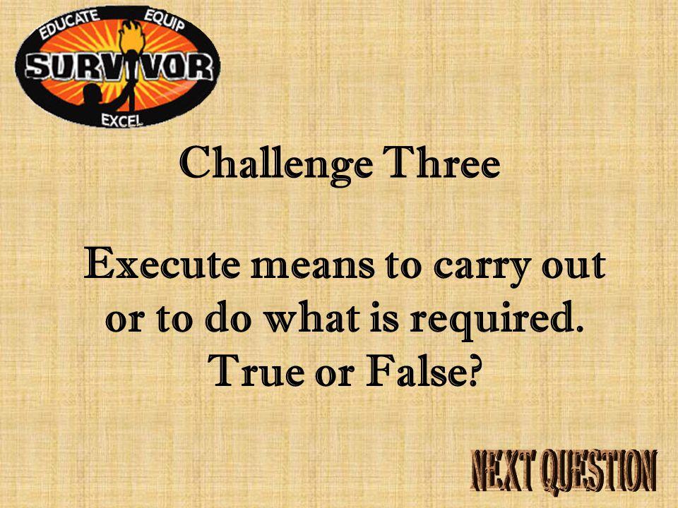 Answer Three Federalists