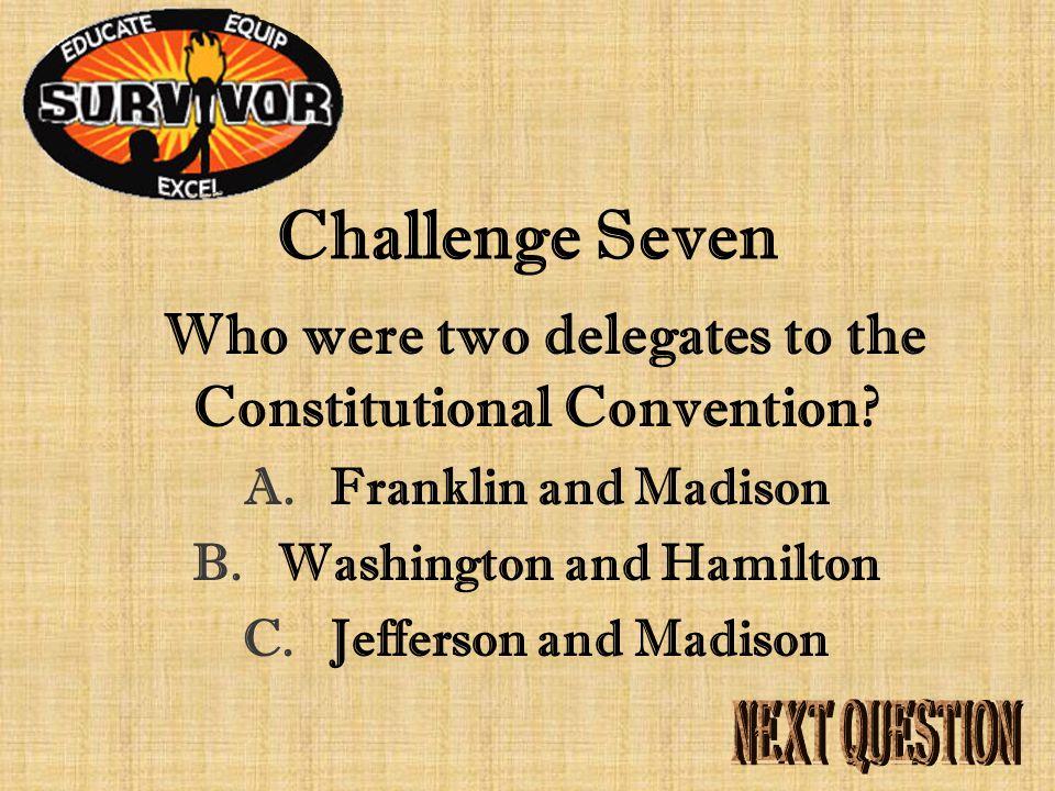Answer Seven The value of public service