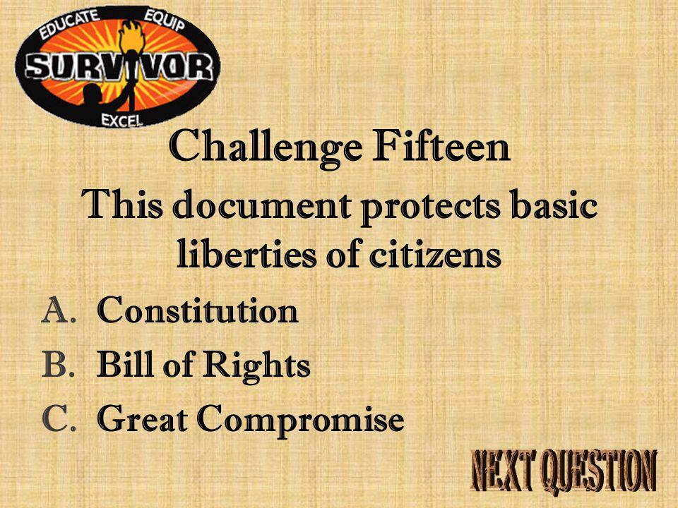 Answer Fifteen Magna Carta