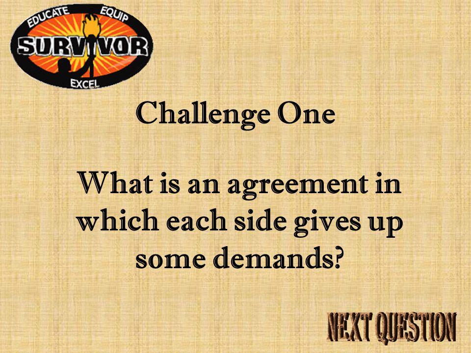 Answer One John Locke