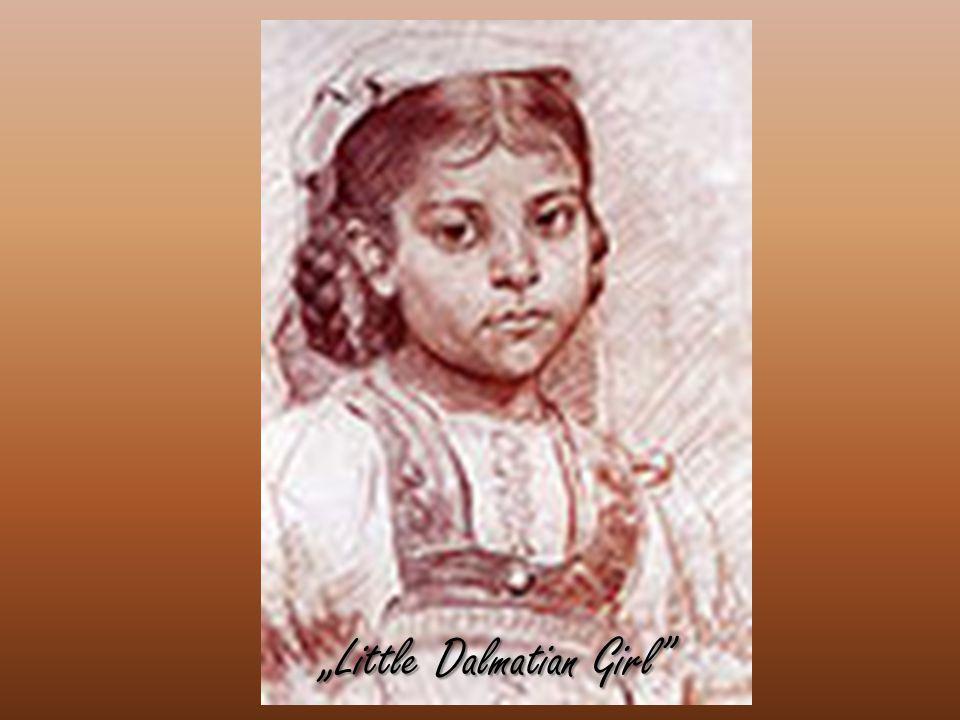 """""""Little Dalmatian Girl"""