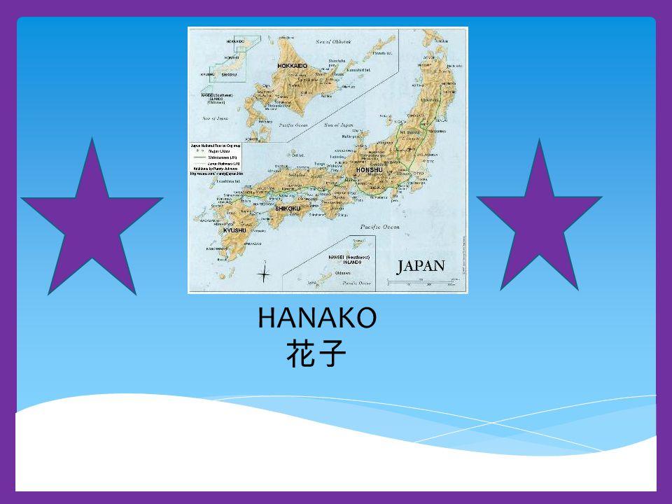 My name is Hanako, I am nine years old.