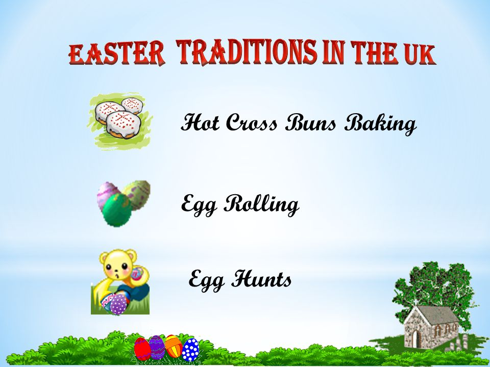 Egg Rolling Hot Cross Buns Baking Egg Hunts