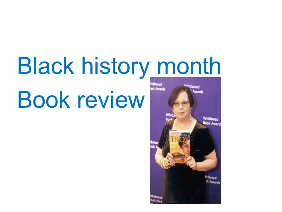 Black history month Book review