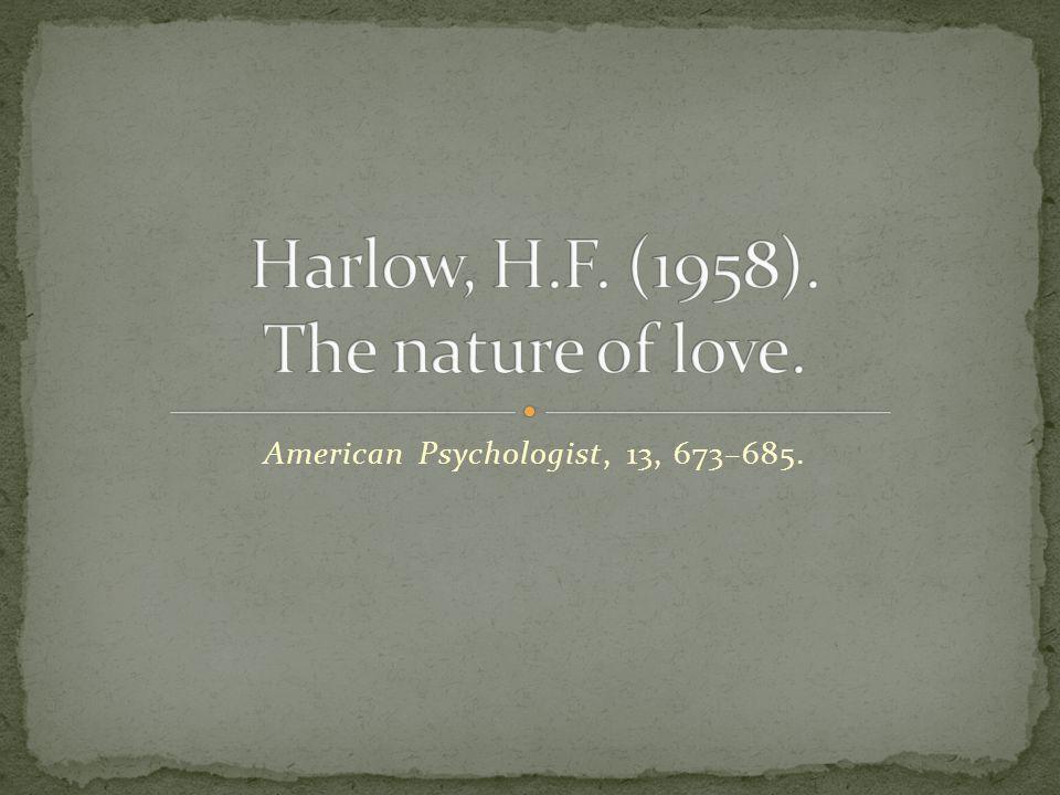 American Psychologist, 13, 673–685.