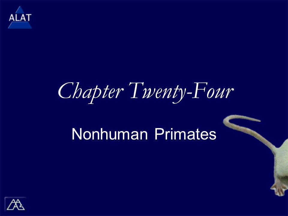 Chapter Twenty-Four Nonhuman Primates