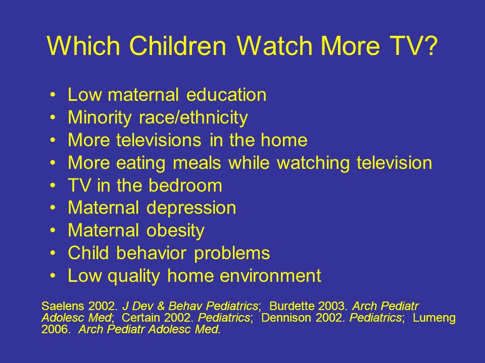 Recommendations for Obesity Prevention MM Davis, Pediatrics 2007 Eat breakfast daily (consistent evidence)