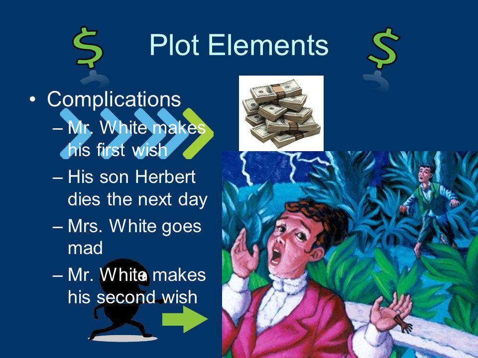 Plot Elements Complications –Mr.