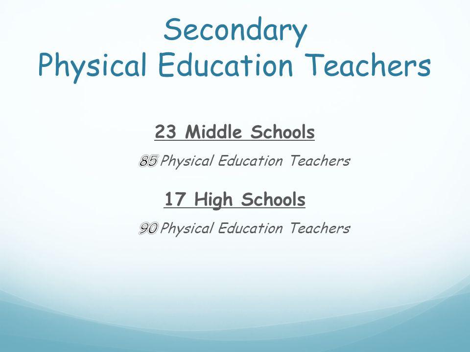 Secondary Physical Education Teachers