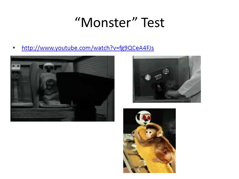 Monster Test http://www.youtube.com/watch?v=fg9QCeA4FJs