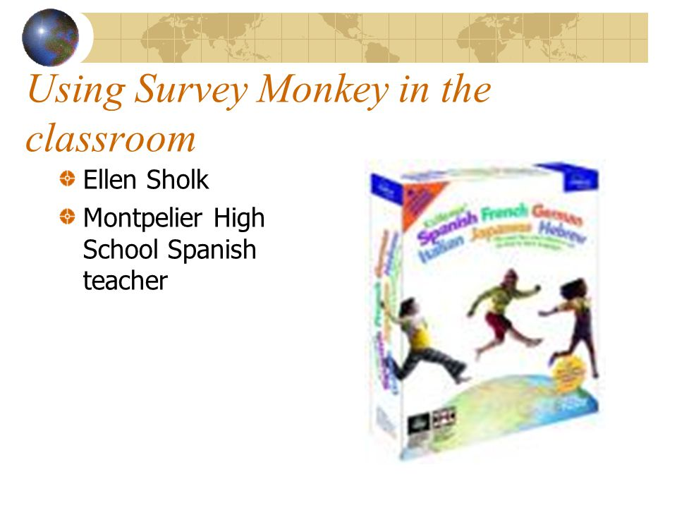 Analyzing Results SurveyMonkey automatically presents bar charts showing your results.