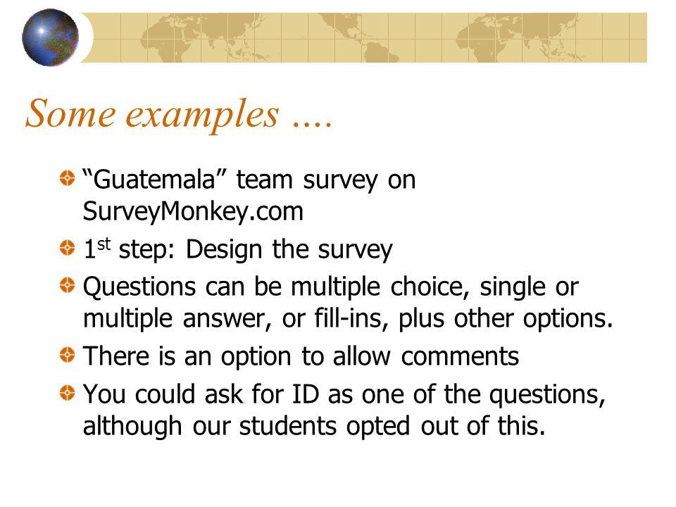 Links to our student surveys: http://mhsbusinessdept.blogspot.com/ http://colombiacoffeeunit.blogspot.com/ http://thisismexicancoffee.blogspot.com/ http://guatemalacoffeeunit.blogspot.com/ http://perucoffeeunit.blogspot.com http://montpeliercostarica.blogspot.com/