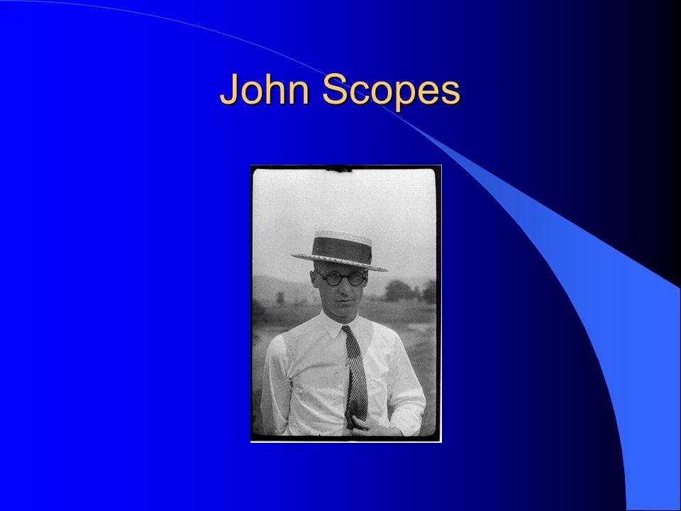 John Scopes