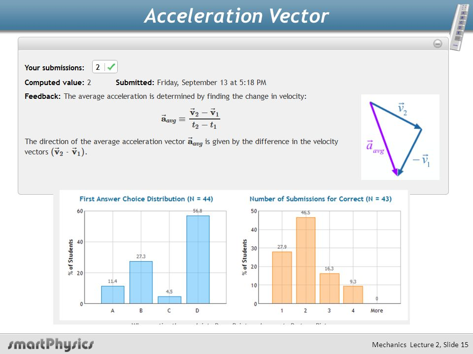 Acceleration Vector Mechanics Lecture 2, Slide 14