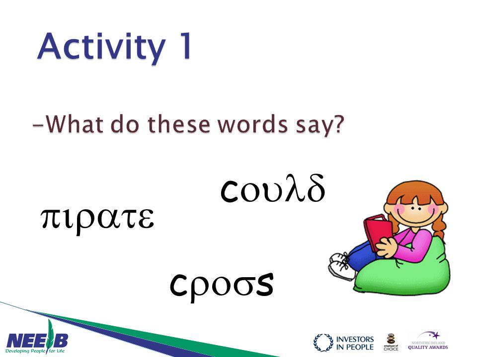  c  c  s Activity 1